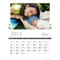 Projekt graficzny fotokalendarza