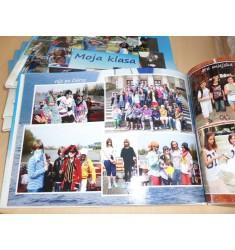 Dla szkoły i przedszkola fotoksiążka z projektem