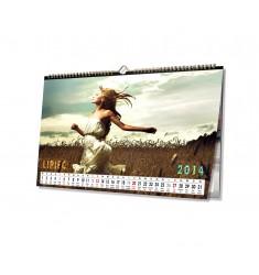 Kalendarz A3 poziomy 13-kartkowy